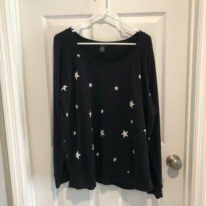 Torrid Star Print Sweatshirt